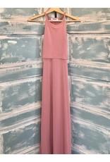 Layered Racerback Midi Dress