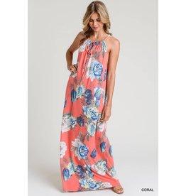 Alex Floral Print Maxi Dress