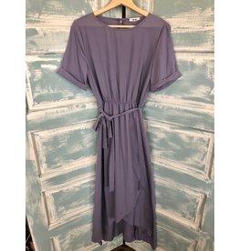 Wrap Skirt Maxi Dress