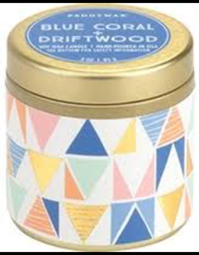 3oz Tin Blue Coral Driftwood