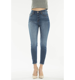 Zippy High Rise Medium Wash Skinny