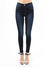 The Go To  Dark Wash High Rise Skinny
