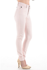 Tickled Pink High Rise Skinny