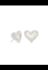 Kendra Scott Ari Heart Stud Earring