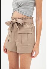 Evie Paper Bag Waist Shorts
