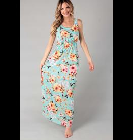 Stella Floral Print Maxi Dress