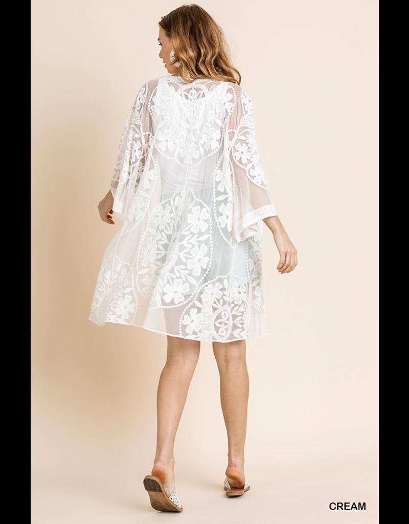 Skylar Lace Kimono
