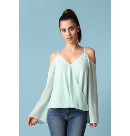 Aurora Cold Shoulder Top