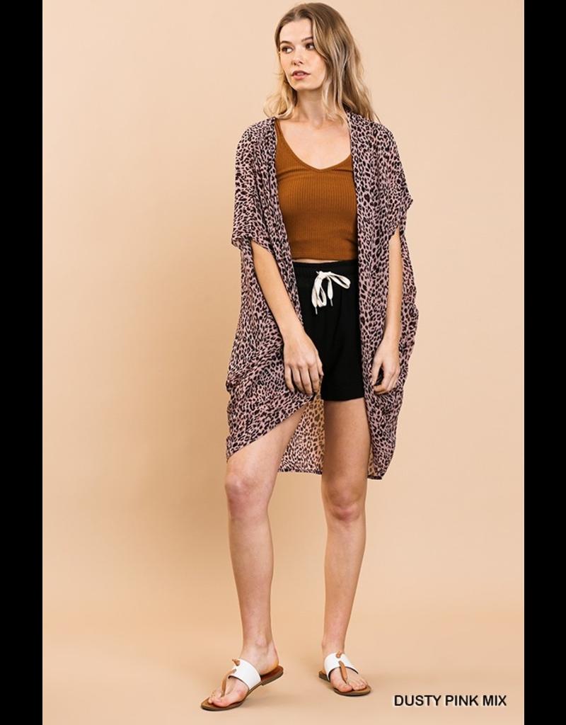 Kensley Leopard Kimono