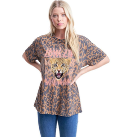 Long Live Rock 'n' Roll  Leopard Tee