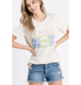 Sunday Graphic Tee