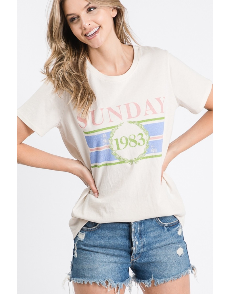 The Sunday Graphic Tee