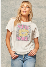 Stay Wild Vintage Graphic Tee