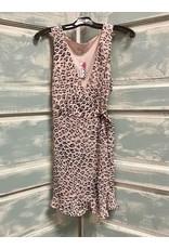 Fun But Fierce Leopard Print Wrap Dress