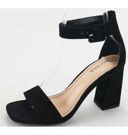 Better Than Ever Blocked Heel - Black