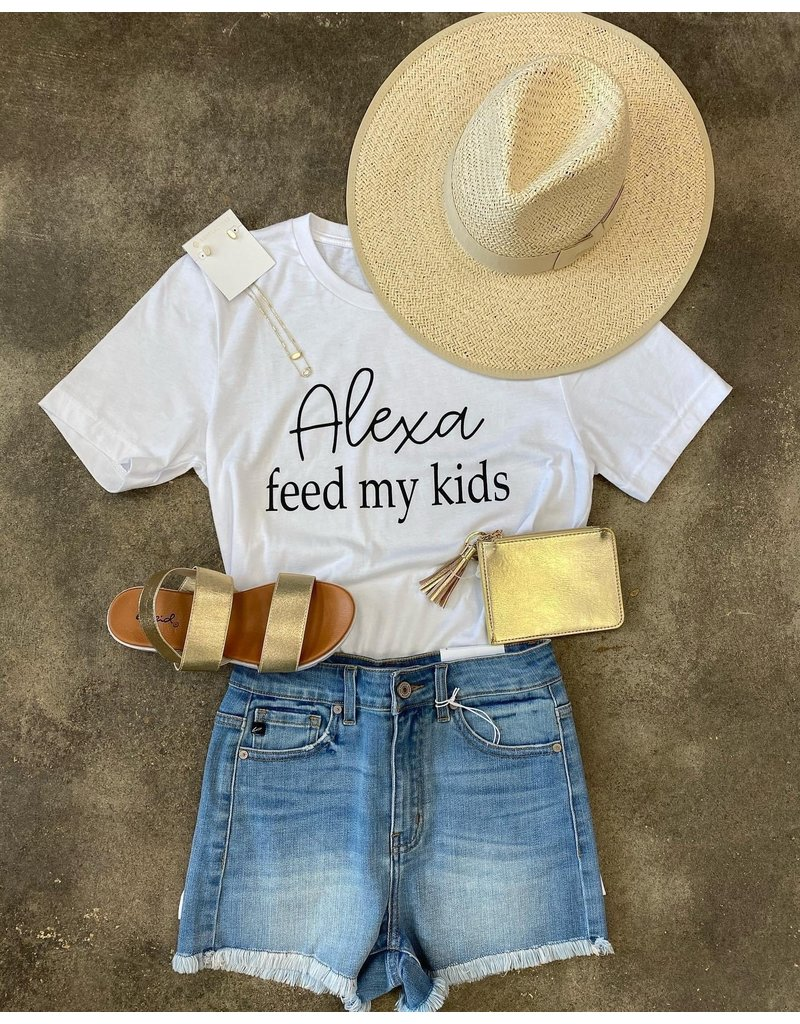 The Alexa Feed My Kids Graphic Tee
