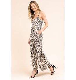 The Drama Leopard Print Jumpsuit