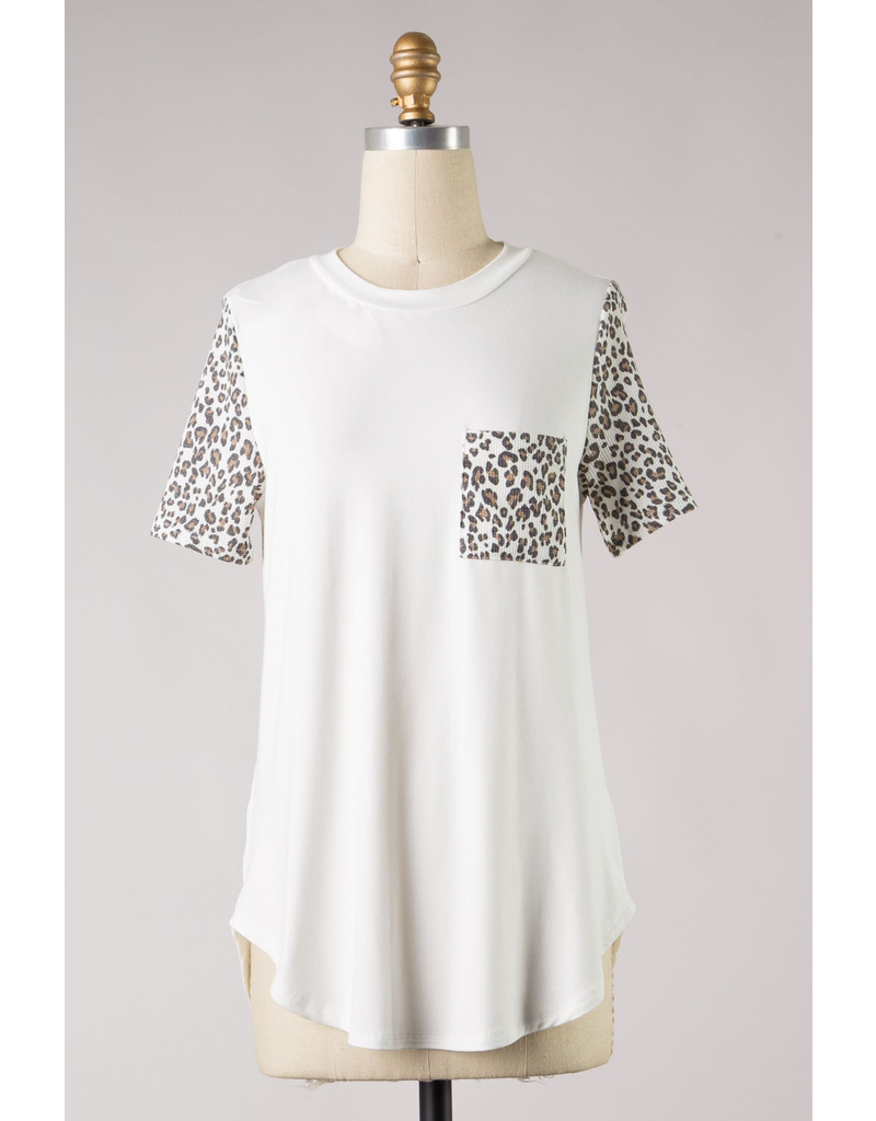 The Thrill Of The Chase Leopard Print Top