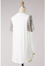 Thrill Of The Chase Leopard Print Top