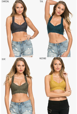 Wish List Pure Bliss Lace Racer Back Bralette