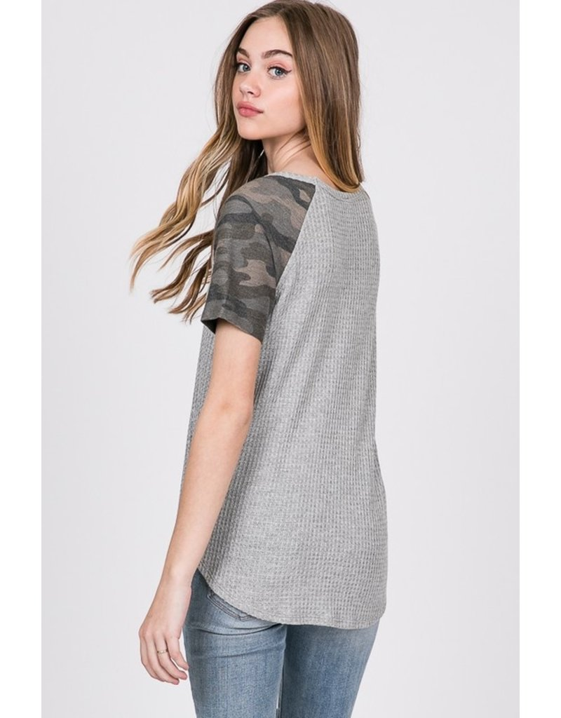 Code Name Camo Sleeve Tee