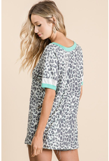 Shake Things Up Leopard Print Top