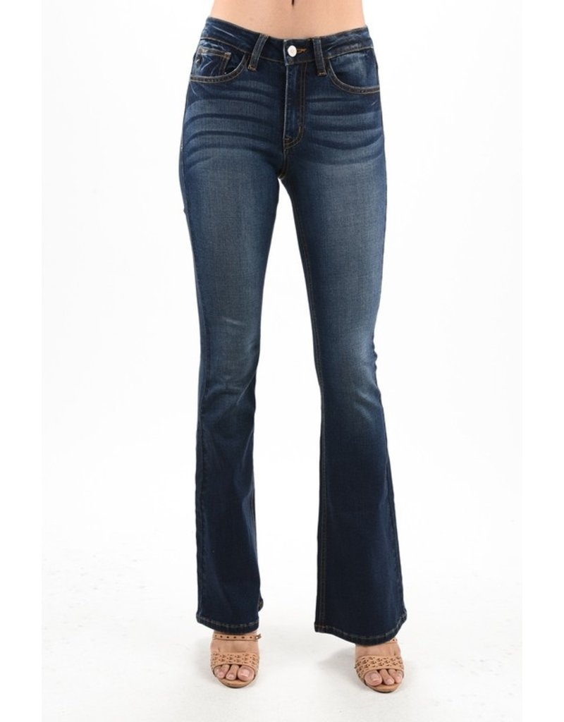 Quite The Catch Flare Jeans