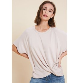Belongs To You Twist Front Top