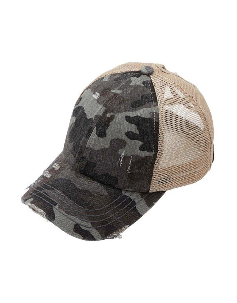 Get Lost Together Camo Baseball Hat