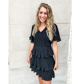 Found Love Pleated Dress