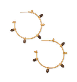 Kendra Scott Freida Hoop Earrings