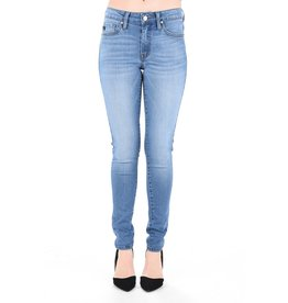 Tori Light Wash Mid Rise Skinny