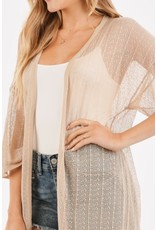 Mind At Ease Lightweight Cardigan