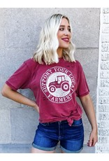 Support Your Local Farmers Graphic Tee