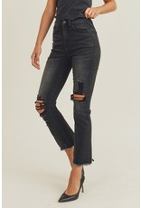 Risen Magnus Distressed Straight Leg Jeans