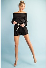 The Candace Off The Shoulder Romper