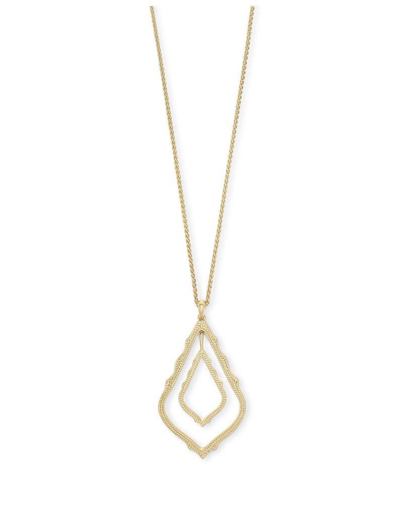 Simon Long Pendant Necklace