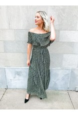 The Orchestra Off The Shoulder Maxi Dress