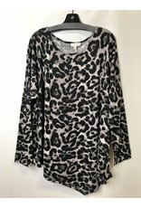 The Curvy Collection - Camila Leopard Print Top