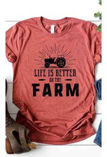 Life Is Better On The Farm Graphic Tee