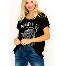 The Beverly Hills Leopard Graphic Tee