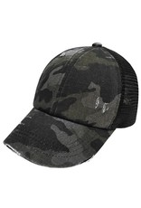 Get Lost Together Camo Baseball Hat