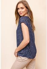 Alexis Striped Top