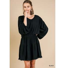 Cora Balloon Sleeve Dress