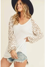 Chasing You Everywhere Leopard Print Top