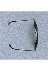 Stunning Vision Aviator Sunglasses - Gunmetal