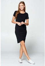 Something About You Bodycon Dress - Black