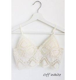 The Gwen Crochet Lace Bralette