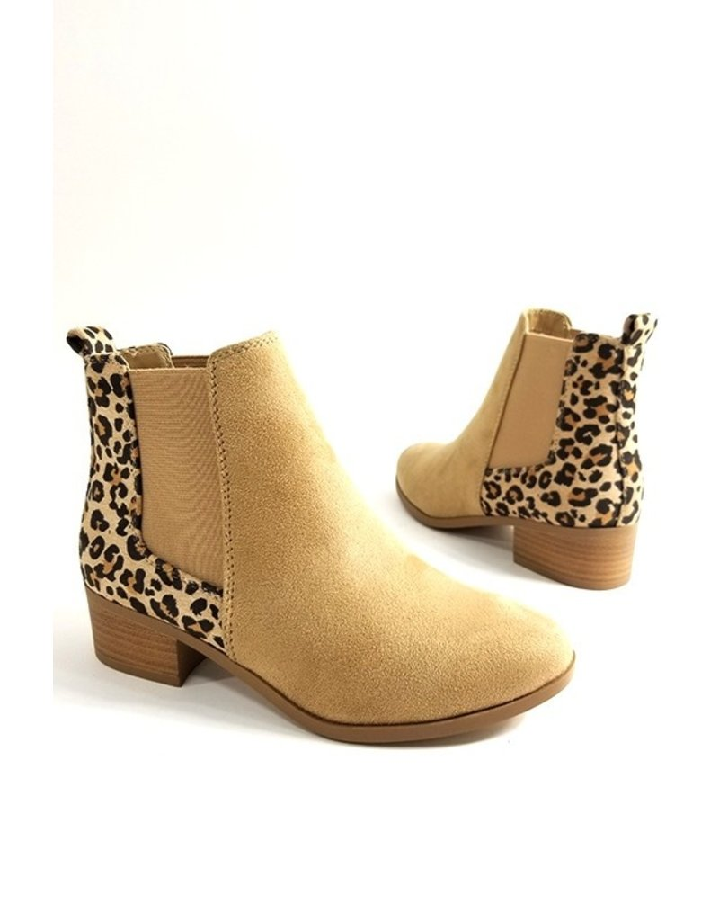 The Full Speed Ahead Leopard Chelsea Boot