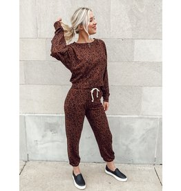 The Let My Heart Run Knit Joggers